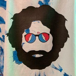 Other - NWOT Jerry Garcia Grateful Dead Tie Dye T-shirt